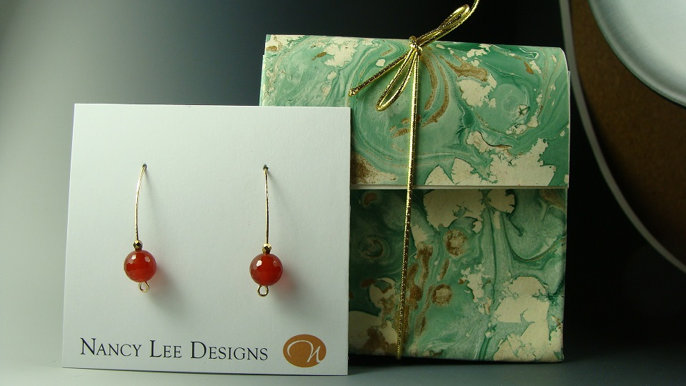 aquamarine alyssa amber jewelry and stonewear earrings handmade carnelian with product riverpebble